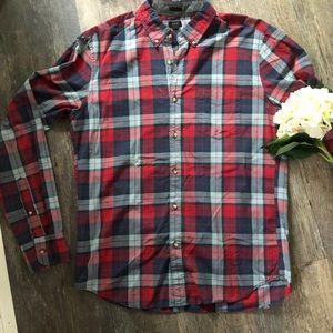 e8315f77cbd4 J. Crew Shirts - Mens J. Crew Slim Tartan Plaid Button Down Shirt